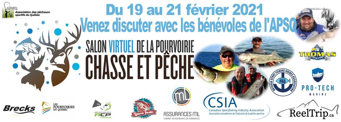 Salon Virtuel Pourvoiries Chasse et Pêche
