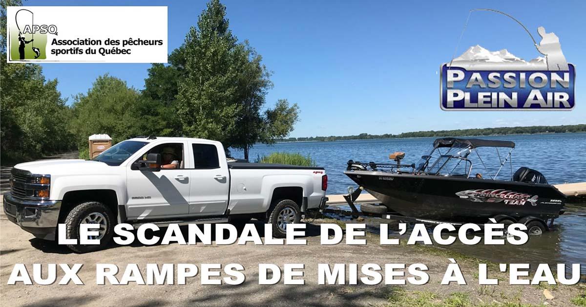 Visionnez l'émission Passion Plein Air sur le Scandale des mises à l'eau au Québec