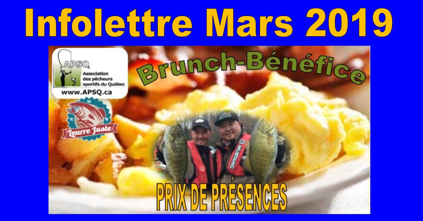 Infolettre de Mars 2019